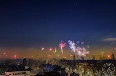 Frankfurt Silvester Feuerwerk