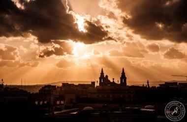 Sonnenuntergang Valletta // Sunset Valletta