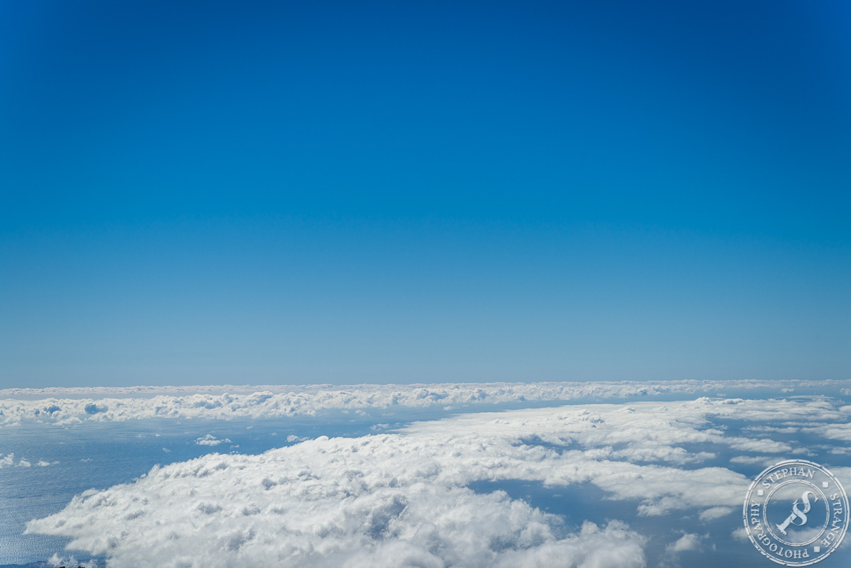 Great sky view from the Guajara Mountain