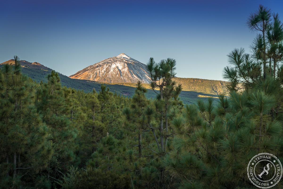 The La Orotava Vale with Pico del Teide in the Background