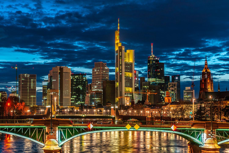 Frankfurt Skyline Lichterzauber