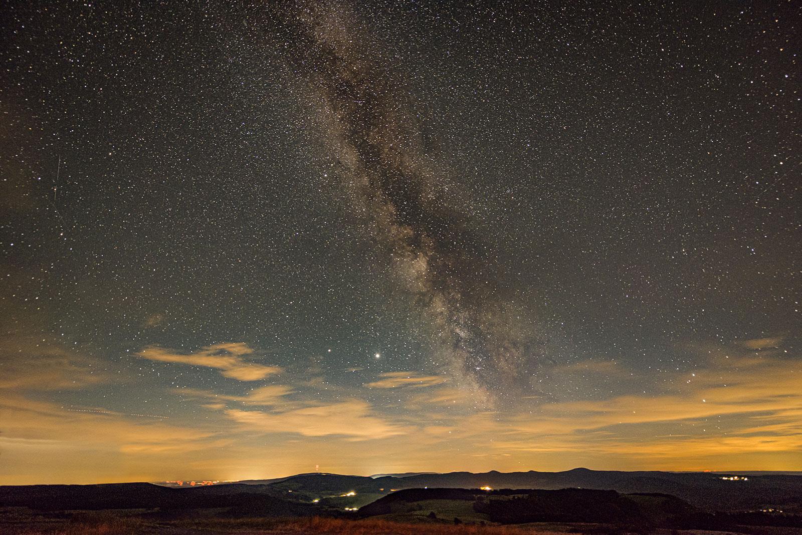 Wasserkuppe Milchstraße